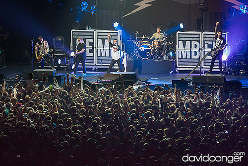 a day to remember at showare center