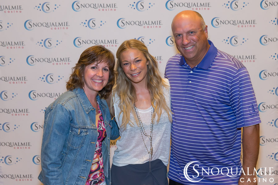 Leann rimes tickets at snoqualmie casino casino deposite free keep no online win